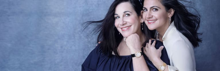 Arianne Philips & Carineh Martin: passion for luxury jewelry and diamond watches