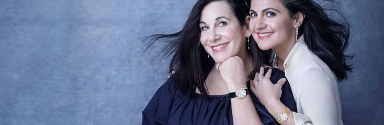 Arianne Philips & Carineh Martin: passion for luxury jewellery and diamond watches