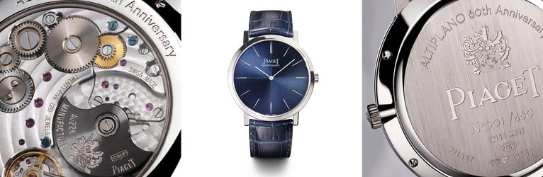 Piaget luxury white gold watch