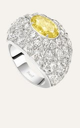 piaget golden oasis white gold diamond ring