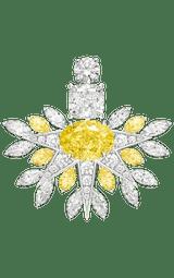 Boucles d'oreilles Haute Joaillerie en diamants Piaget Golden Oasis