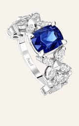 diamonds and sapphires high jewellery ring