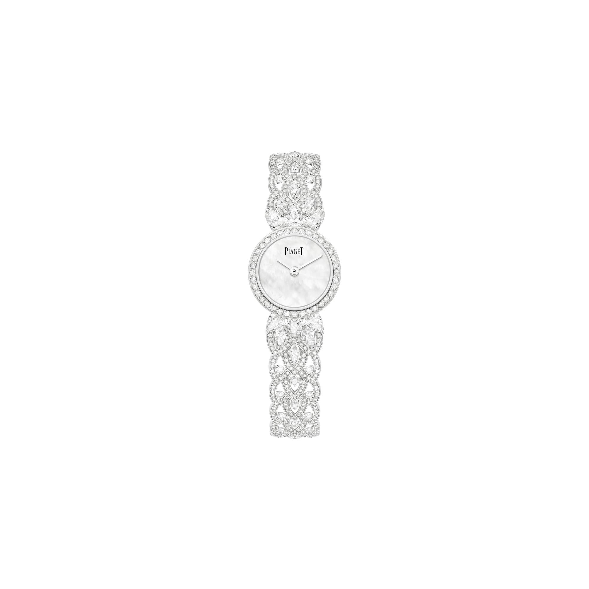 piaget high jewellery gold diamond watch
