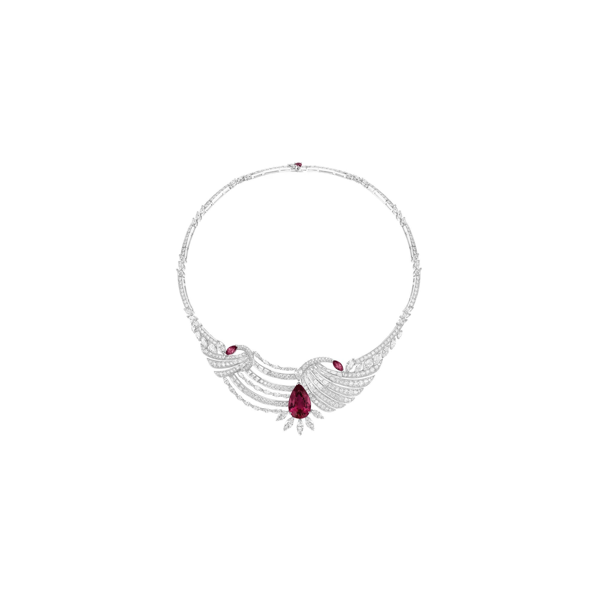 piaget high jewellery diamond necklace