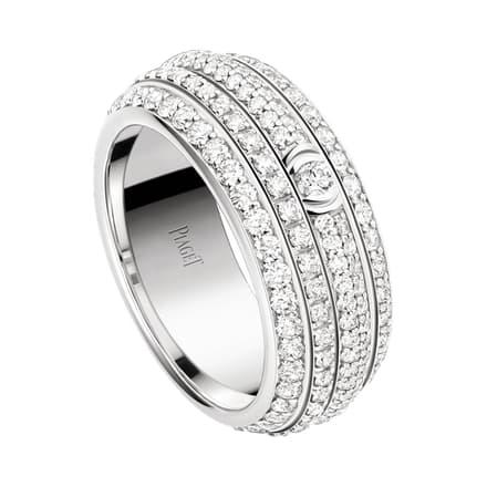 Michael B Jordan於奧斯卡金像獎頒獎典禮佩戴的白金鑽石指環