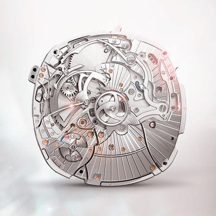 Piaget 1290P minute repeater watch movement