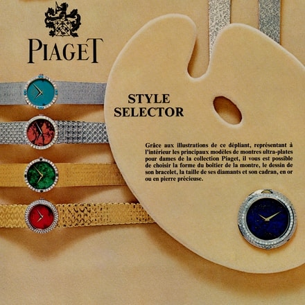 Piaget Infinitely Personal Concept