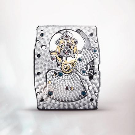 Piaget 600P tourbillon watch movement