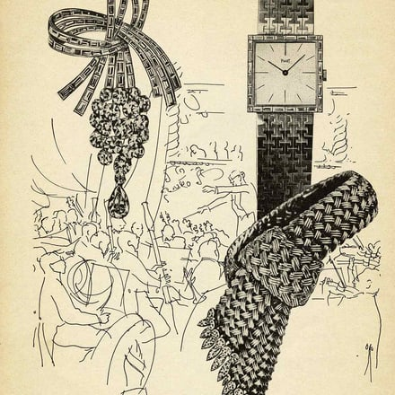 Piaget watch and jewellery advertising