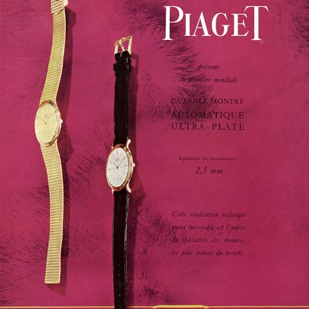 Piaget Altiplano ultra-thin watches