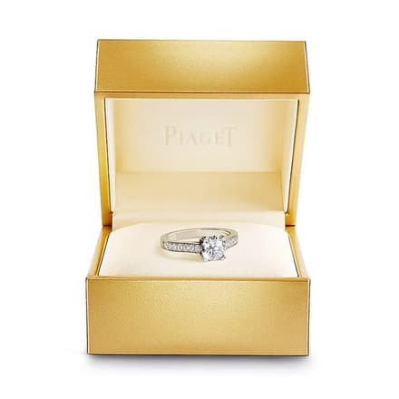 piaget diamond engagement ring