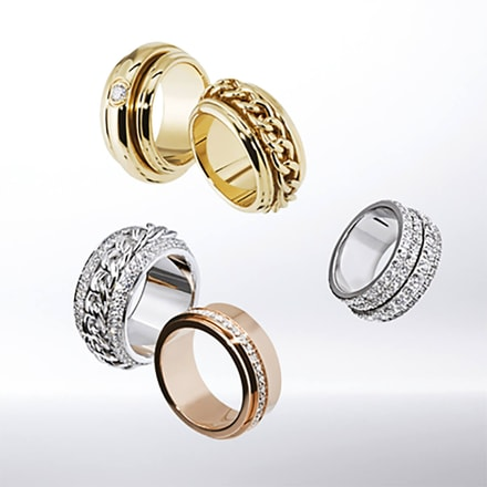 Piaget Possession turning rings