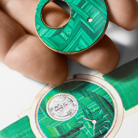 Dial of a Piaget Altiplano watch