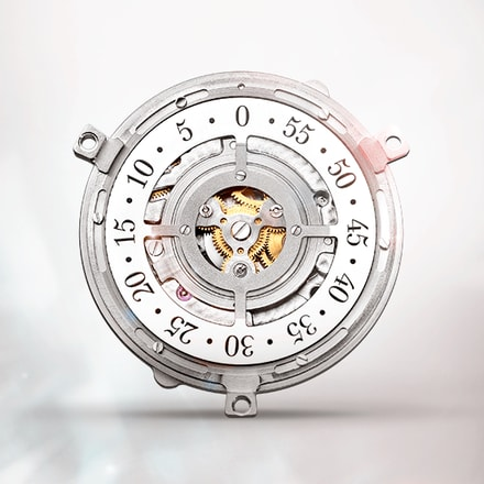 Piaget 836P jumping hours watch movement