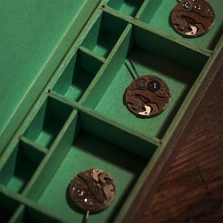 ピアジェの時計職人の工具箱