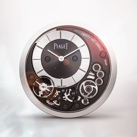 Piaget 900P ultra-thin hand-wound mechanical movement