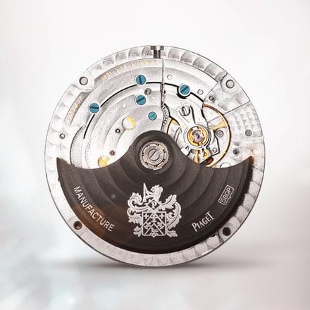 Mouvement automatique Piaget 580P avec phases de lune