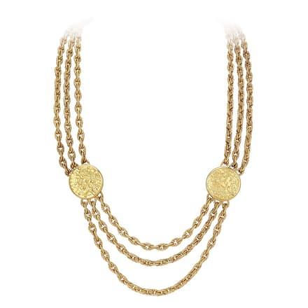 Collier de luxe en or jaune Piaget