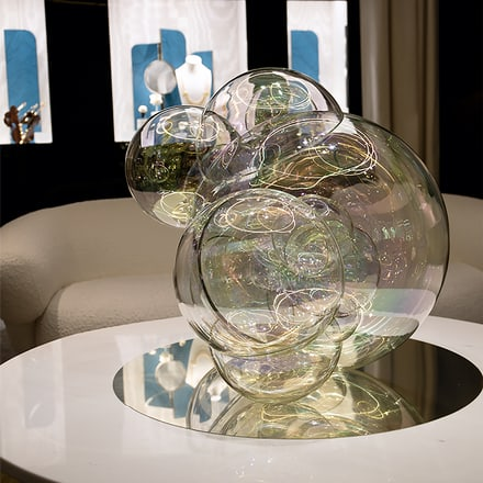 Sculpture Moments of Hapiness créée par les Verhoeven Twins pour Piaget
