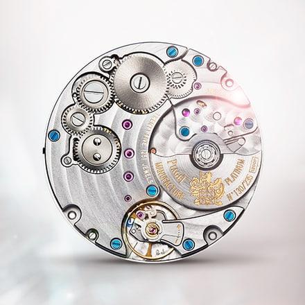 伯爵製1200P白金超薄自動上鍊機械機芯