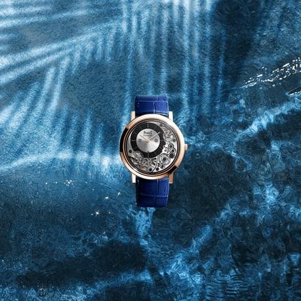 Reloj ultraplano Piaget Altiplano de oro rosa