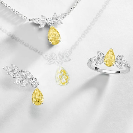 Piaget Treasures yellow diamond high jewellery