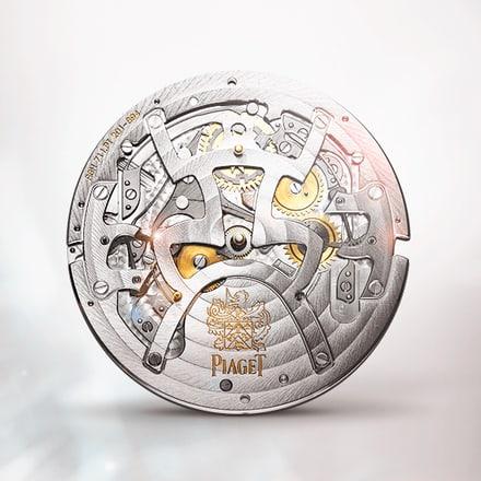 피아제 856P 퍼페추얼 캘린더 시계 무브먼트