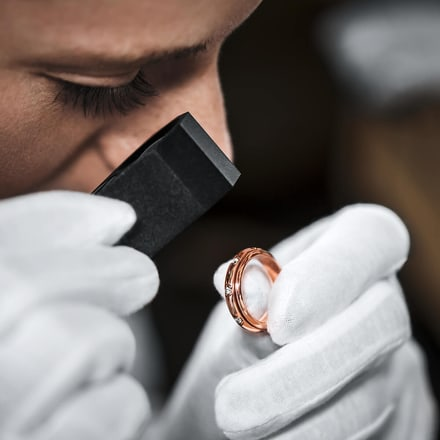 Piaget luxury ring servicing