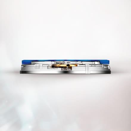 피아제 1110P 블루 기계식 오토매틱 무브먼트