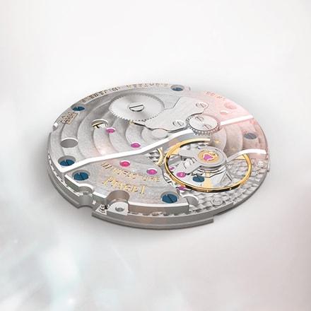 Mouvement de luxe mécanique à remontage manuel: mouvement Piaget 430P