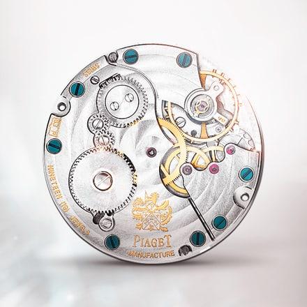 Movimiento mecánico ultraplano Piaget 832P de cuerda manual