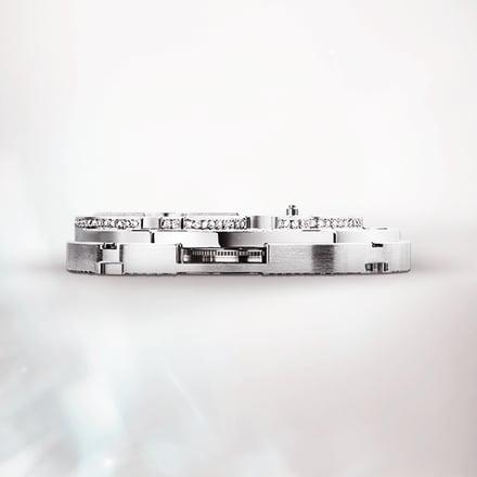 Movimiento reloj esqueleto tourbillon de lujo: movimiento Piaget 1270D