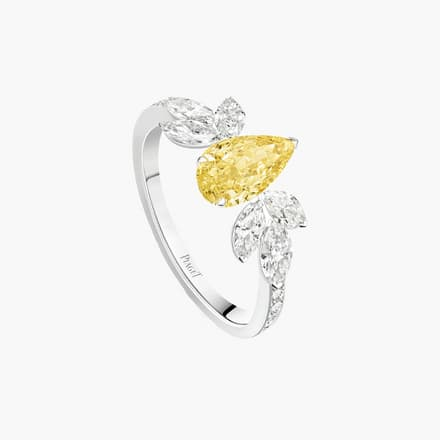 yellow diamond high jewellery ring