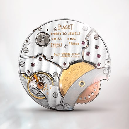 Piaget 12P ultra-thin automatic movement