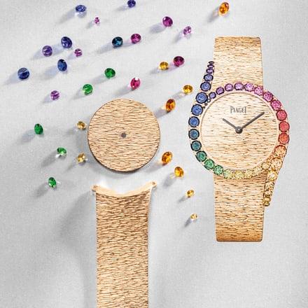 Sapphire luxury watch for women