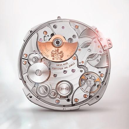 伯爵製1290P超薄自動上鍊三問報時機芯