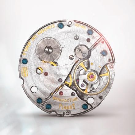 Mouvement mécanique extra-plat Piaget 430P à remontage manuel