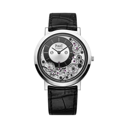 Montre en or blanc extra-plate Altiplano