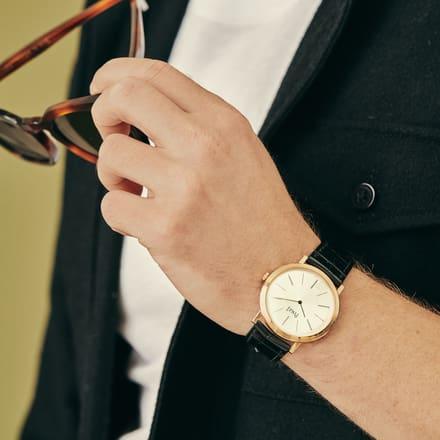 Reloj de lujo ultraplano para hombres