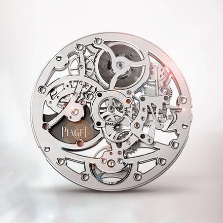 伯爵製1200S超薄鏤空自動上鍊機械機芯
