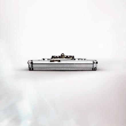 Механизм для роскошных часов с турбийоном и указателем фаз Луны: механизм Piaget 642P