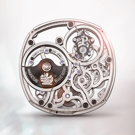 Piaget 1270S tourbillon skeleton ultra-thin self-winding mechanical movement