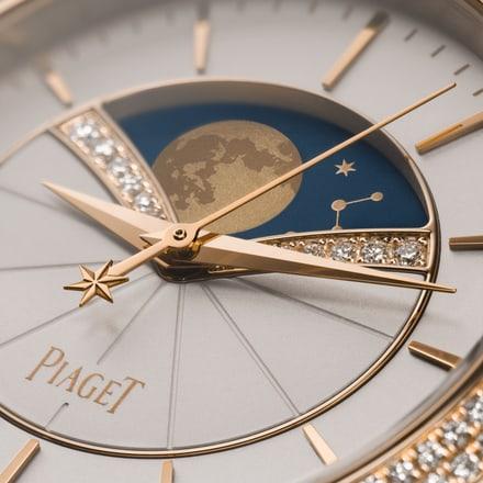女士高級金質鑽石腕錶