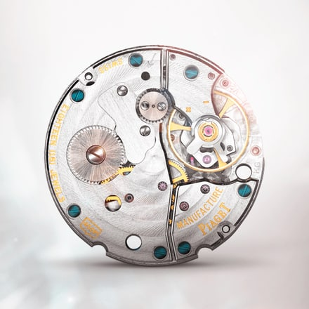 Piaget 450P ultra-thin hand-wound mechanical movement with small seconds