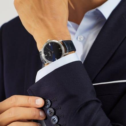 luxury ultra-thin watch for men