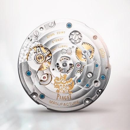 Ultraflaches mechanisches Chronographenwerk Piaget 883P