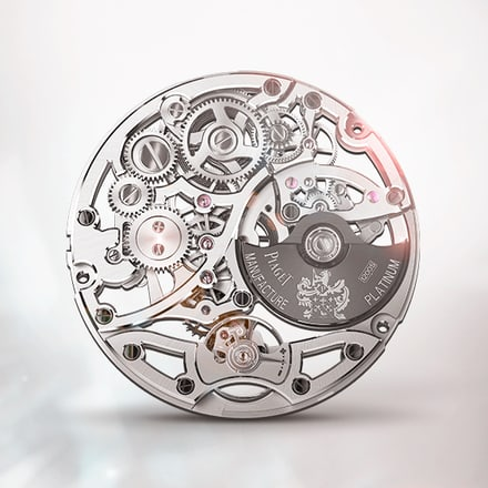伯爵製1200S鏤空腕錶機芯