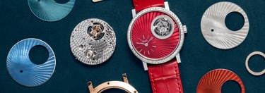 Gold diamond watches personalization
