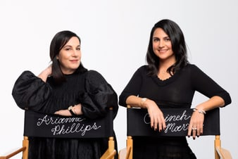 Arianne Philips & Carineh Martin sparkling with luxury jewelry and gold diamond watches