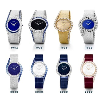 The evolution of the Piaget Limelight Gala luxury watch